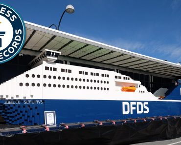 Largest LEGO Ship – Guinness World Records